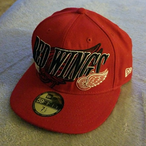 3c367147e4235 detroit red wings 59fifty hats New Era Accessories